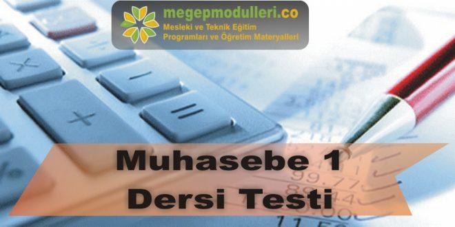 muhasebe 1 testi