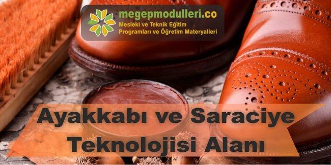 ayakkabi ve saraciye teknolojisi megep modulleri