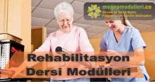 rehabilitasyon dersi megep