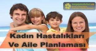kadin hastaliklari ve aile planlamasi megeb modulleri