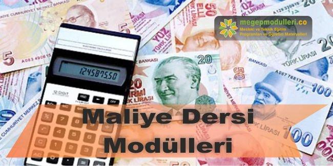 maliye dersi modulleri megep