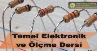 temel elektronik ve olcme megep modulleri