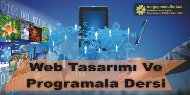web tasarimi ve programlama dersi megep