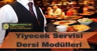 yiyecek servisi dersi megep