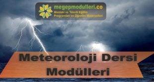 meteoroloji dersi megep modulleri