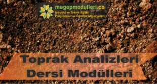 toprak analizleri dersi megep modulleri